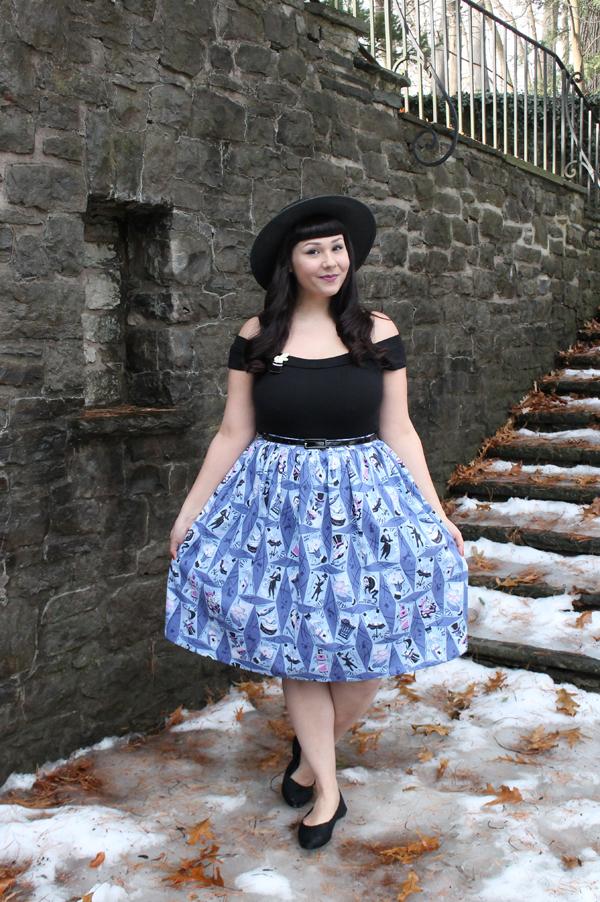 stephanie buscema magic show skirt