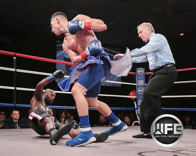 WFC 98 1/11/19 LIVE BOXING at Chumash Casino