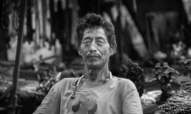 Bodh Gaya street merchant
