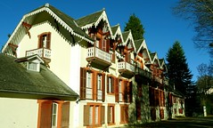 Bagnères-de-Bigorre (Hautes-Pyrénées, Fr) – Ancien hôtel Tivoli