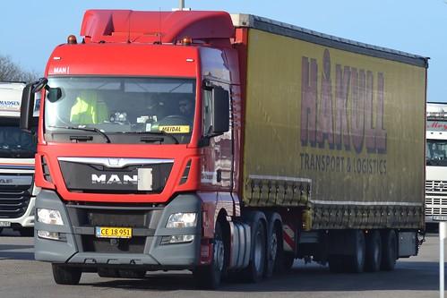 MAN TGX 26.480 -TS-Transport - DK  CE 18 951