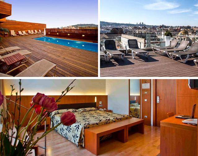 Hotel Lleo uno de los hoteles en Barcelona donde dormir barato