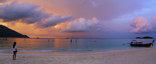 Day is done on Koh Lipe, relax and enjoy the twilight