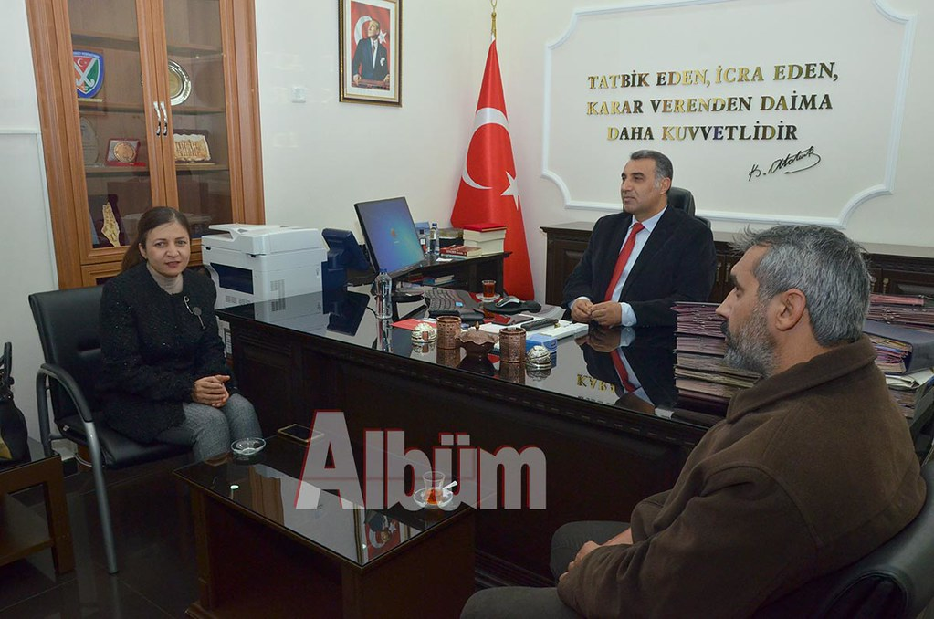 AGC'den Kaymakam Harputlu'ya ziyaret