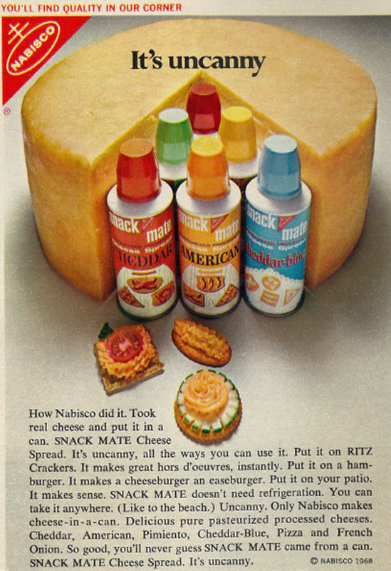 Nabisco Snack Mate 1968