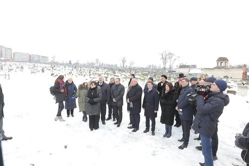 29.01.2019 Vizită la cimitirul evreiesc