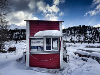 Cabin, Main Street, Breckenridge | by georgeupstairs