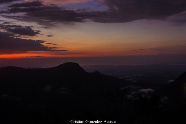 Sunset, Buenaventura, Colombia