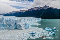 Postcard Greetings From Perito Moreno