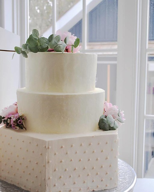 Buttercream Wedding Cake by Savannah Grace Bakes