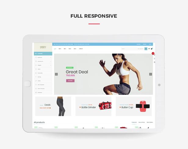 Ap Sporty Amazing Fashion Trend Prestashop Sport Theme - Fully responsive