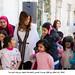 الملكة رانيا تحتفل مع أطفال مؤسسة الحسين الاجتماعية بأمهات ومربيات المؤسسة<br>