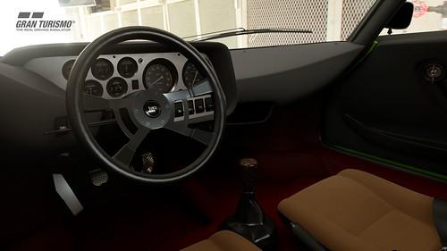 Lancia Stratos Cockpit