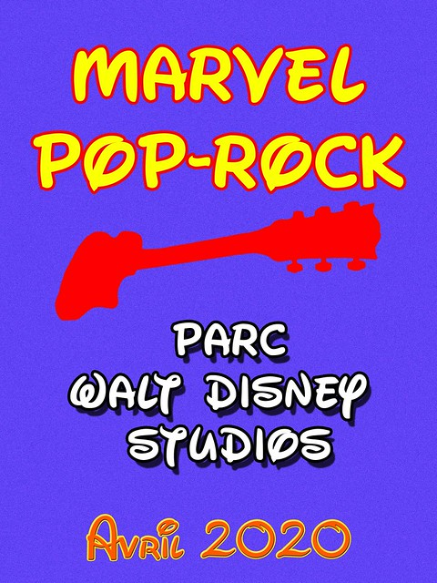 Soirée Marvel Pop-Rock