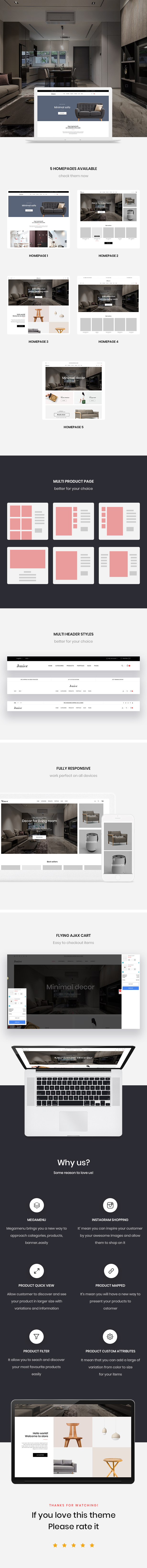 Furniture & Home Decor prestashop 1.7 themes
