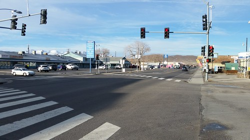 Icy Streets in Fernley