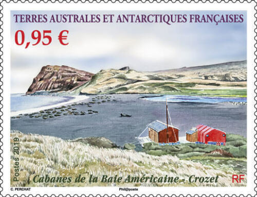 French Southern and Antarctic Lands - American Bay Cabin (January 2, 2019)