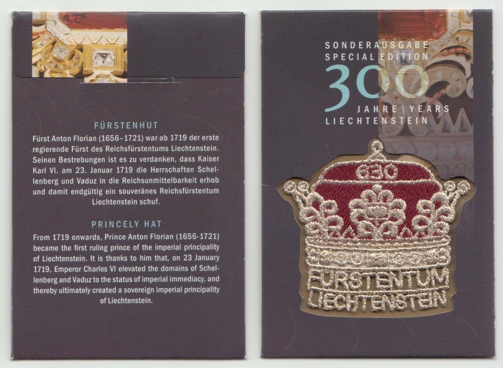 Liechtenstein - 300th Anniversary of Liechtenstein (January 23, 2019) souvenir folder