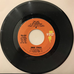 INEZ FOXX:I HAD A TALK WITH MY MAN(RECORD SIDE-B)