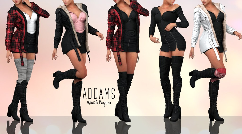 ADDAMS NEW WIP + GIVEAWAY! yay!