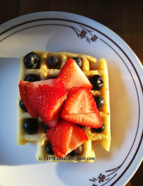 Homemade waffle pancake mix