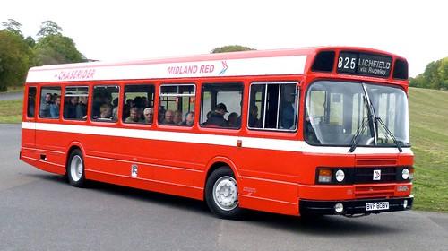 BVP 808V 'MIDLAND RED' No. 808. Leyland National 2 on Dennis Basford's railsroadsrunways.blogspot.co.uk'