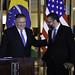 Secretário Pompeo se encontra com ministro das Relações Exteriores do Brasil