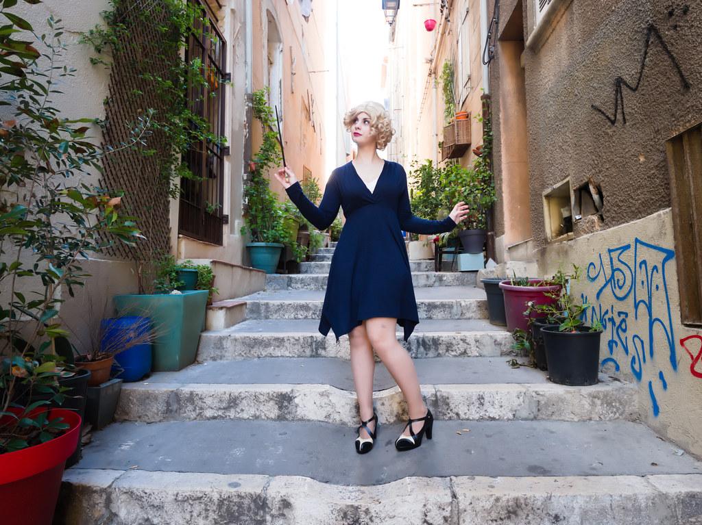 related image - Shooting Les Animaux Fantastiques - Queenie Goldstein - Le Panier - Marseille -2018-12-24- P1444863