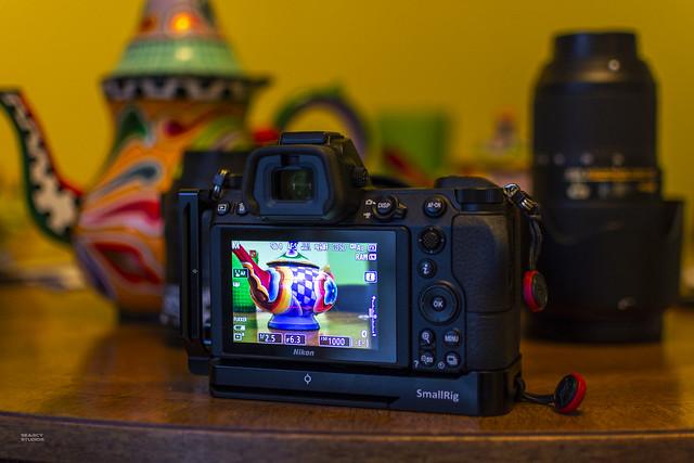 SmallRig on a Nikon Z6