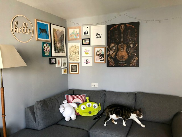 gallery wall - pickles not amused
