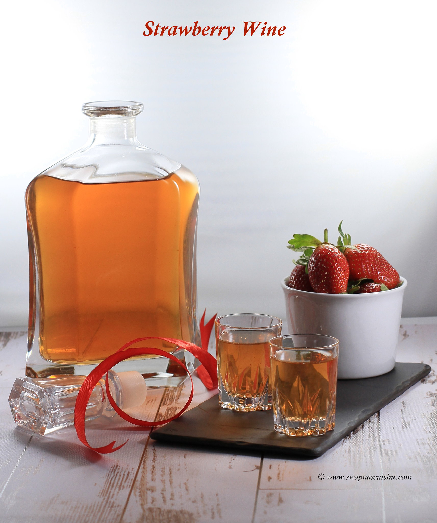 How to make Strawberry Wine