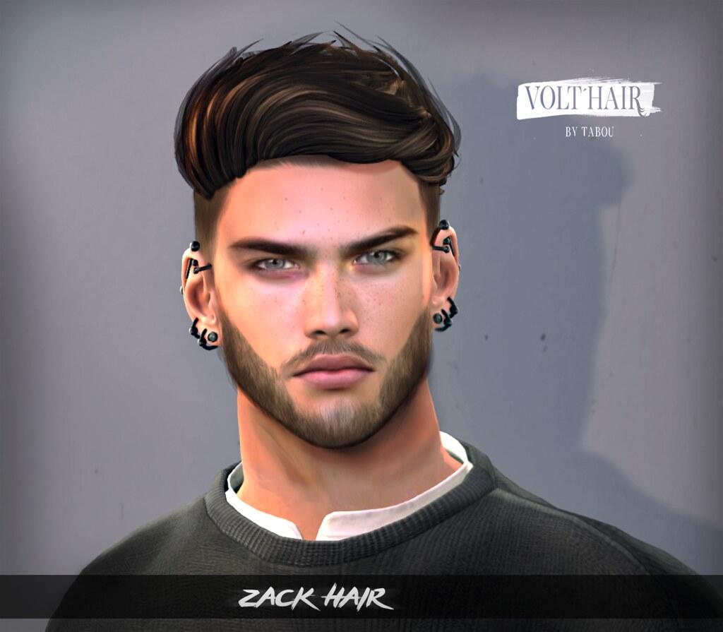 Zack Hair @ mancave