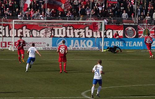 Kickers Würzburg 0:2 Hansa Rostock