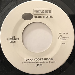US3:TUKKA YOOT'S RIDDIM(LABEL SIDE-A)