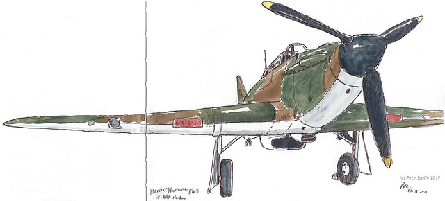 RAF Hendon Hawker Hurricane