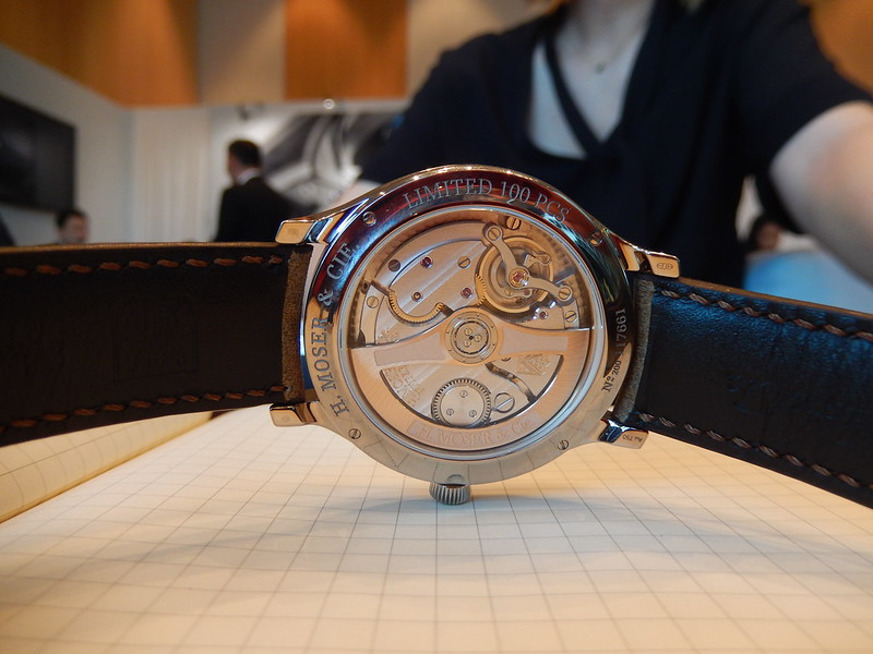 moser - Baselworld 2019 : reportage H.Moser & Cie 46555764245_0eb00b479f_c