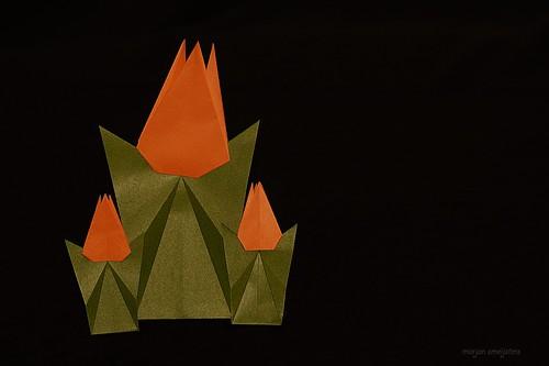 Origami Tulip (Noriko Sumida)
