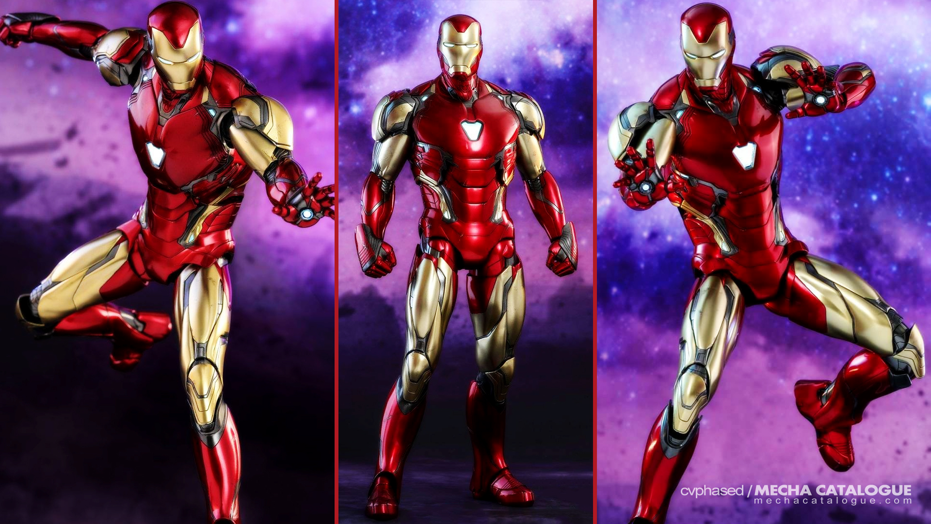 Finally Revealed! Iron Man Mark 85