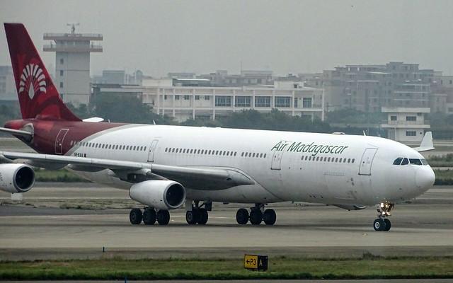 Air Madagascar Airbus A340-300 5R-EAA