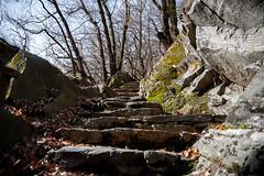 oldstonestairway
