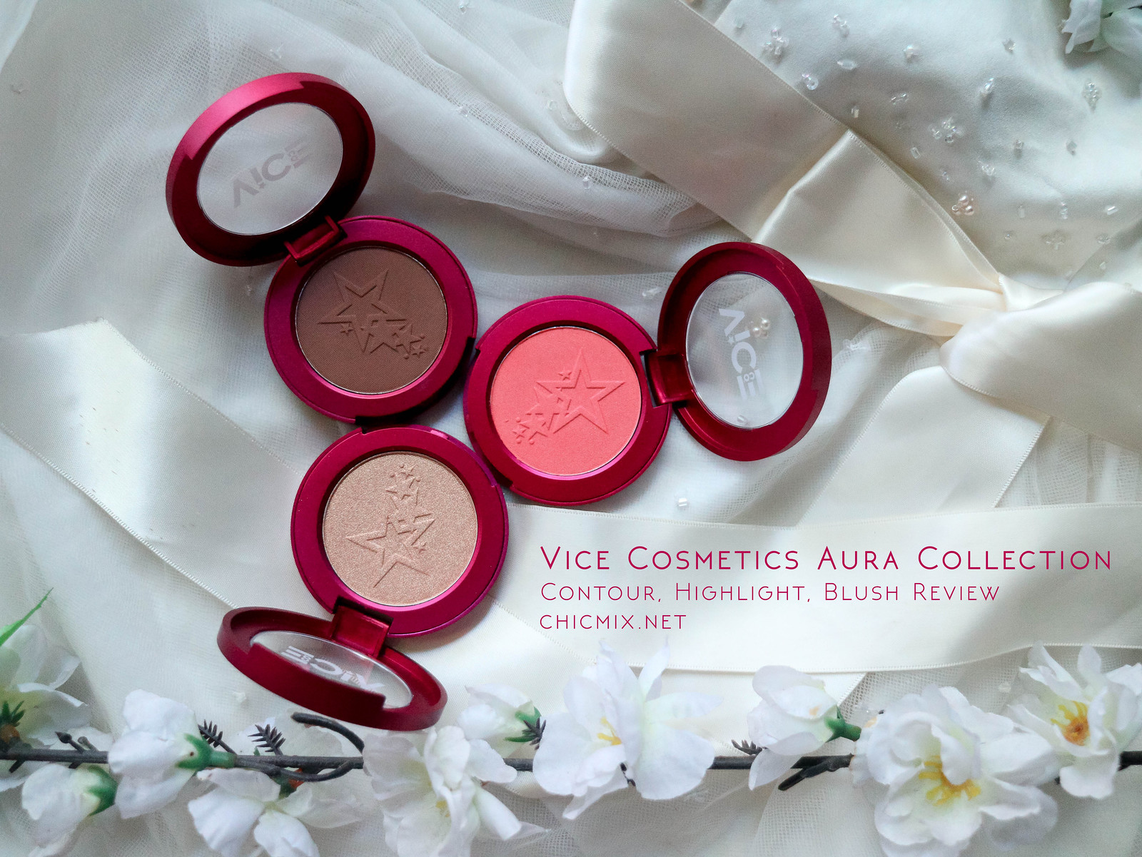 Vice Cosmetics Blushes cover