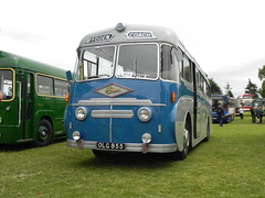 dsj672 posted a photo:	1951 rear engined Foden with a PLaxton body