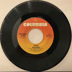 TOTO:ROSANNA(RECORD SIDE-A)