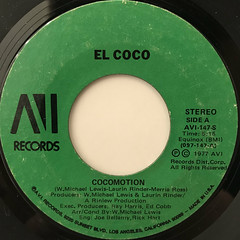 EL COCO:COCOMOTION(LABEL SIDE-A)