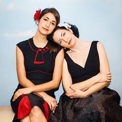 Tara O'Grady and Sasha Papernik