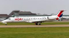 Embraer ERJ-145MP F-GUEA HOP! - Photo of Ichtratzheim