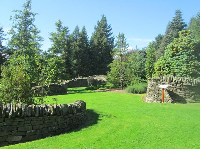 genetics garden, Dundee Botanics, Scotland
