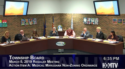 Township Board Decides to Table the Medical Marihuana Non-Zoning Ordinance