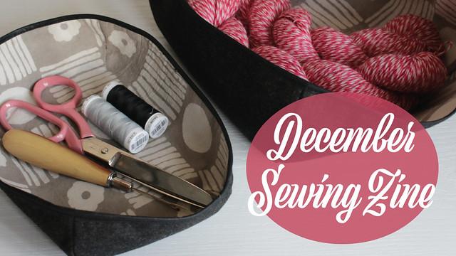 December Sewing Zine Vlog