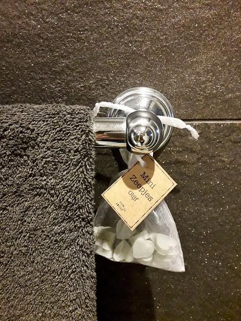 Minizeepjes handdoek badkamerdeco